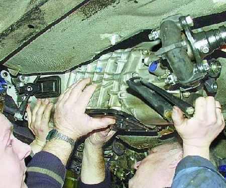 Порядок снятия и установки сцепления ВАЗ