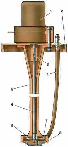 Конструкция насоса омывателя ВАЗ 21011