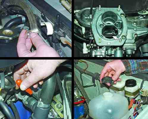 Снятие и установка двигателя ВАЗ