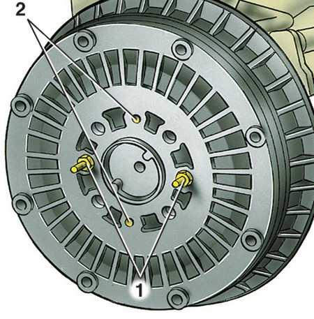 Порядок разборки и снятия задних тормозов