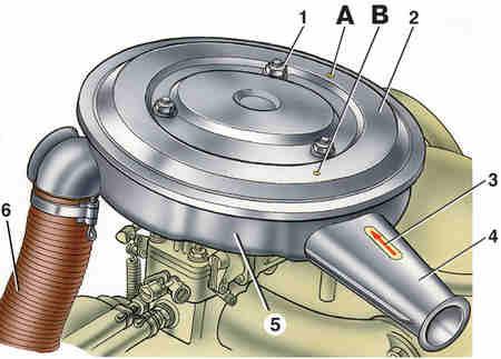 Воздушный фильтр автомобиля ВАЗ 2101 и 21011